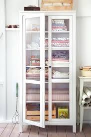 linen cabinets ikea linen closet storage freestanding cabinet glass door cabinet from