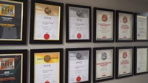 diploma frame stock footage video shutterstock moscow russian federation 18 2017 diplomas and awards in the framework hang