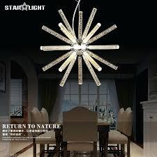 star chandelier light star chandelier home depot led artistic creative post personality modern hanging restaurant lamp
