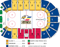 Colorado Eagles Seating Chart Colorado Eagles Seating Chart At The Budweiser Events Center