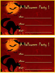 Halloween Invitations Cards Free Printable Halloween Invitations Free Halloween Party