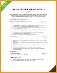 Resume Templates Word Doc Beauteous Simple Resume Template Word Doc Bookkeeping Examples Stunning Photos