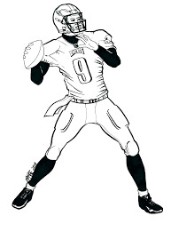 Nfl Football Coloring Pages Football Color Page Football Coloring