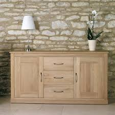 baumhaus mobel solid oak large sideboard cor02a baumhaus mobel solid oak fully assembled large