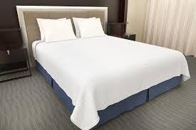 white decorative top sheet