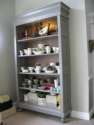 repurposed doors project build a bookcase out of an old vintage door via joys
