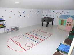 Interior Decoration:Play Room In A White Basement Living Room Cool Boys Room  With White