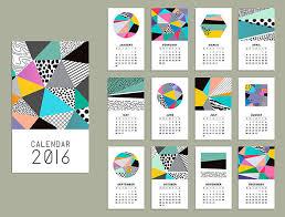 Calendar Formats 21 Best Calendar Templates For 2016 Web Graphic Design Bashooka