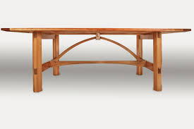 modern arts and crafts dining table
