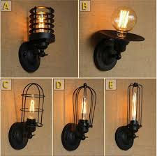 industrial style dining room lighting. fashion industrial vintage wall lamp industry simple european style dining room bedroom corridor lights sconces lighting i