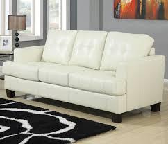 beige leather sofa. Samuel Beige Leather Sofa Bed O