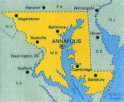 「Annapolis, Maryland, 1845 map」の画像検索結果