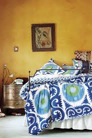 Yalova Duvet - Anthropologie And that wall color!