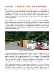 Donate Furniture To Charity Dublin Donate Old Furniture Free Pick