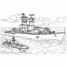 Oorlogsschepen Kleurplaten Leuk Voor Kids