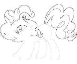 pinky pie coloring pages pinkie my little pony coloring pages baby pinkie pie