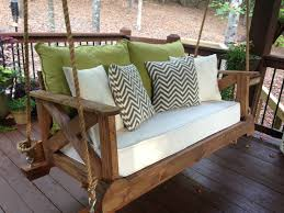 Porch Swing Bed Best 25 Porch Swing Beds Ideas On Pinterest Porch Bed Hanging