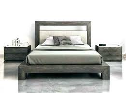 modern king size platform bed sets bedroom white e76