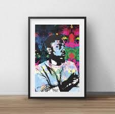 Antiquitäten & Kunst Kunst <b>King</b> Kunta Kendrick Lamar <b>Poster</b> A4 ...