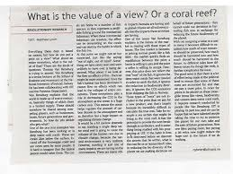 coral value publications and outreach uit he told them why valuation of cold water corals