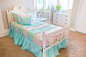 Pastel Colors For Bedrooms Little Girls Pink And Turquoise Bedding Adorable Pastel Colors