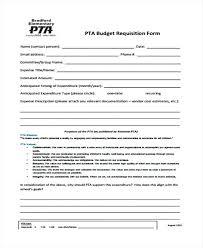 Sample Budget Template Pta Meeting Flyer Templates ...