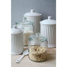 Decorative Glass Jars For Kitchen Decorative Glass Jar With Lid for Cookie Sweet Kitchen Storage 23