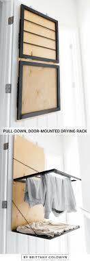 fold up hanging drying rack