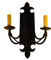 ironware lighting. Wrought Iron Sconces Bevolo Gas U Electric Lighting With Ironware Sconces.