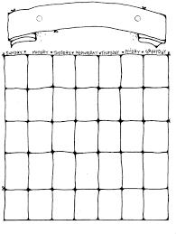 Blamk Calendar Printable Blank Calendar Pages Activity Shelter