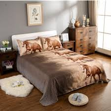 3d bedding set horse printed bedding animal print bedclothes duvet cover set quilt cover bed linens duvet covers for queen bedroom comforter sets from