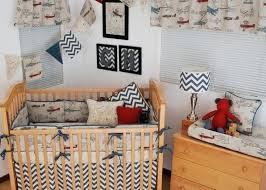 aviator crib bedding set vintage airplane bedding with a world map print and blue chevron accessories aviator crib bedding set