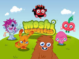 Fun With Free Moshi Monsters Colouring
