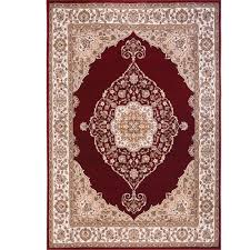 exciting area rugs for your floor decor home dynamix bazaar emy red ivory 7