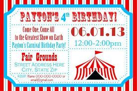 email birthday invitation carnival themed birthday party invitations carnival birthday