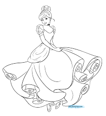 This page contains cinderella fairy godmother, carriage, castle, disney and. Cinderella Coloring Page Cinderella Coloring Pages Disney Coloring Pages Disney Princess Coloring Pages