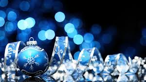 blue christmas background.  Christmas View Full Size  On Blue Christmas Background H