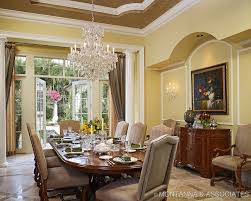 perfect design dining room crystal chandelier homes tables beautiful rooms luxury dining room design