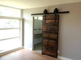 um size of narrow french doors bathroom barn door privacy sliding gap b byp barn door