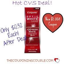 Cheap Colgate Optic White Express Cvs