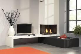 vent free corner gas fireplace