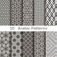 Arabic Patterns Adorable Vector Arabic Style Seamless Patterns 48 Free Download