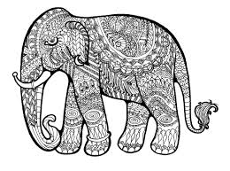 Small Picture Printable 21 Elephant Mandala Coloring Pages 8908 Hard Pattern