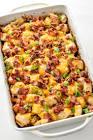 bacon ranch potato casserole