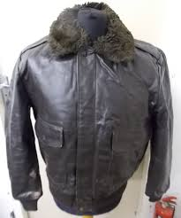 wear guard men s sherpa liner type a 2 er leather jacket with fur collar