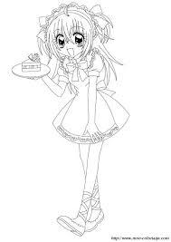 Kleurplaat Nightcore Ausmalbild Anime Mdchen Von Gabriela Gogonea