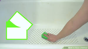 image titled clean a bathtub step 7