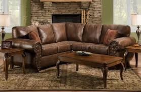 3 seat sectional couch l couch brown microfiber sectional sofas