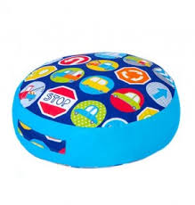 floor cushions for kids.  Kids Road Signals Design Giant Soft Play Kids Round Floor Cushion Throughout Cushions For U