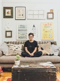 cozy furniture brooklyn. A Cozy Brooklyn Apartment For An Artist And Teacher, Design*Sponge Furniture R